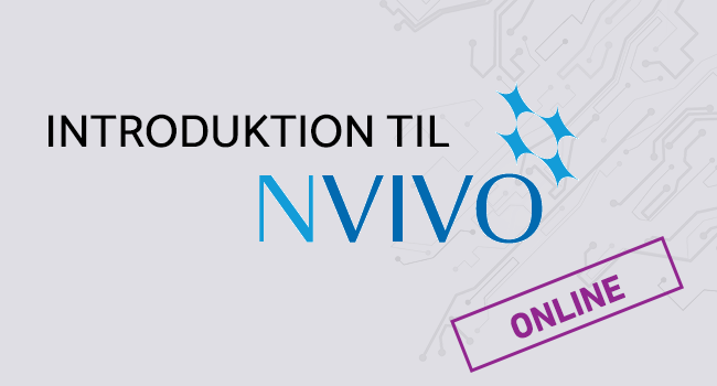 Introduktion til NVivo (online)